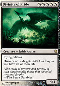 Divinity of Pride - Commander 2013