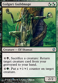 Golgari Guildmage - Commander 2013