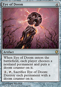 Eye of Doom - Commander 2013