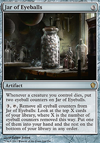 Jar of Eyeballs - Commander 2013