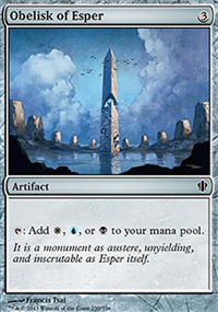 Obelisk of Esper - Commander 2013