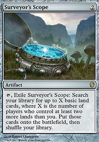 Surveyor's Scope - Commander 2013
