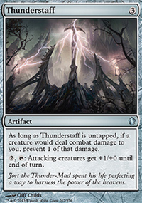Thunderstaff - Commander 2013