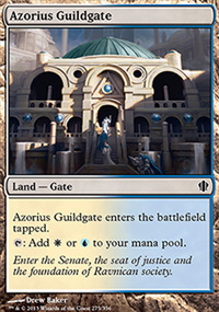 Azorius Guildgate - Commander 2013