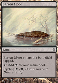 Barren Moor - Commander 2013