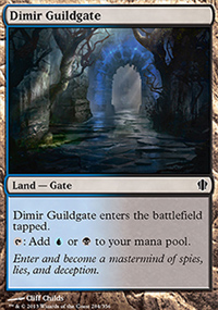Dimir Guildgate - Commander 2013