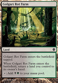 Golgari Rot Farm - Commander 2013
