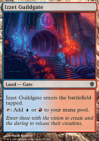 Izzet Guildgate - Commander 2013