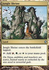 Jungle Shrine - Commander 2013