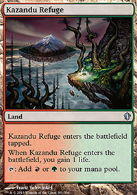 Kazandu Refuge - Commander 2013