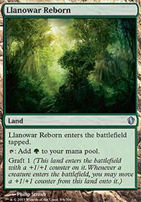 Llanowar Reborn - Commander 2013