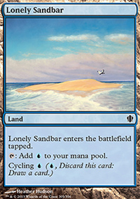 Lonely Sandbar - Commander 2013