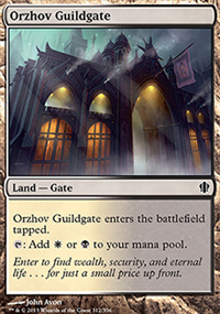 Orzhov Guildgate - Commander 2013