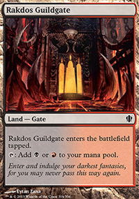 Rakdos Guildgate - Commander 2013