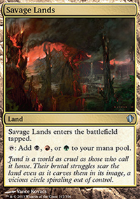 Savage Lands - Commander 2013