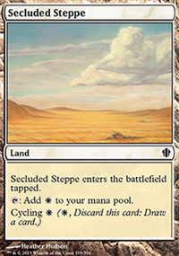 Secluded Steppe - Commander 2013
