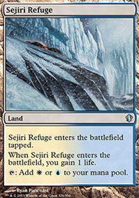 Sejiri Refuge - Commander 2013