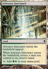 Selesnya Sanctuary - Commander 2013