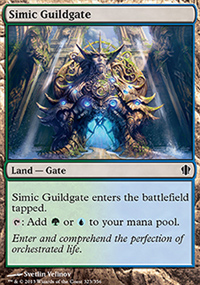 Simic Guildgate - Commander 2013