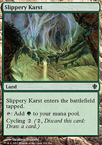 Slippery Karst - Commander 2013