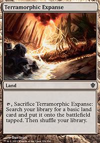 Terramorphic Expanse - Commander 2013