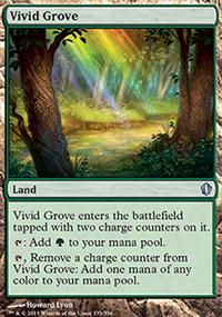 Vivid Grove - Commander 2013