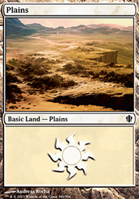 Plains - Commander 2013