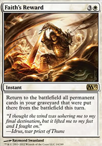 Faith's Reward - Magic 2013