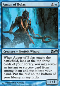 Augur of Bolas - Magic 2013