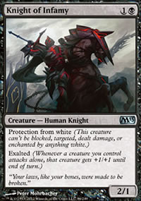 Knight of Infamy - Magic 2013