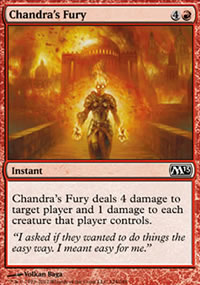 Chandra's Fury - Magic 2013