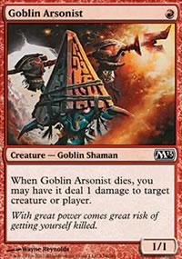 Goblin Arsonist - Magic 2013