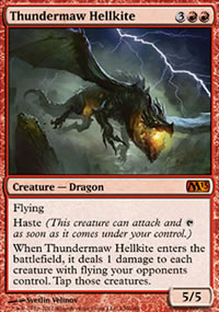 Thundermaw Hellkite - Magic 2013
