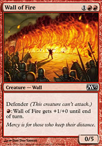 Wall of Fire - Magic 2013