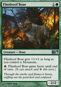 Flinthoof Boar - Magic 2013