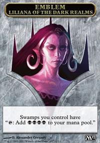 Emblem Liliana of the Dark Realms - Magic 2013