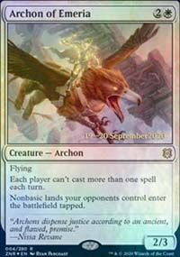 Archon of Emeria - Prerelease Promos