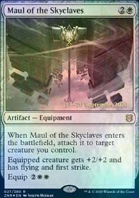 Maul of the Skyclaves - Prerelease Promos