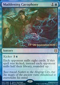 Maddening Cacophony - Prerelease Promos