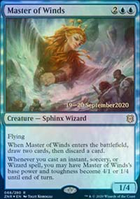 Master of Winds - Prerelease Promos