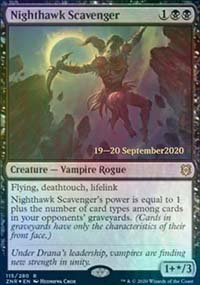 Nighthawk Scavenger - Prerelease Promos