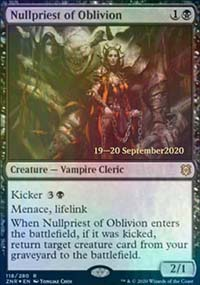 Nullpriest of Oblivion - Prerelease Promos