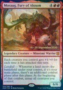 Moraug, Fury of Akoum - Prerelease Promos