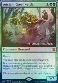 Ancient Greenwarden - Prerelease Promos