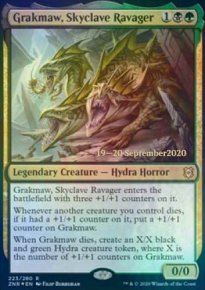 Grakmaw, Skyclave Ravager - Prerelease Promos