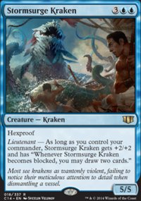 Stormsurge Kraken - Commander 2014