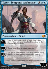 Teferi, Temporal Archmage - Commander 2014