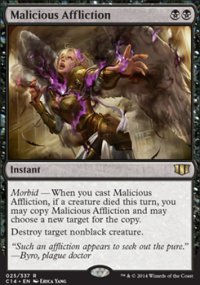 Malicious Affliction - Commander 2014