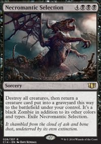 Necromantic Selection - Commander 2014
