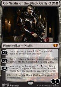Ob Nixilis of the Black Oath - Commander 2014